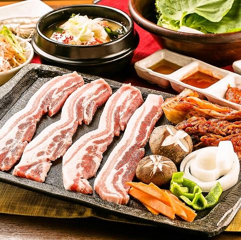 韓国家庭料理 サムギョプサル専門店 金ちゃん