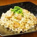 料理メニュー写真豚トロ塩炒飯