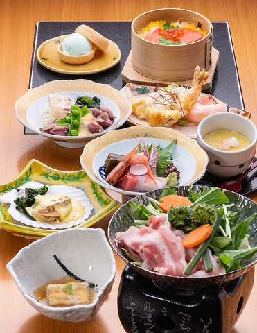 ◆◇6000円ジャストコース◇◆【料理9品+90分飲み放題付】