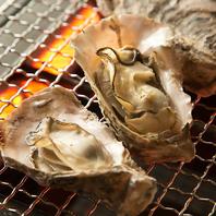 新橋で本場広島の様な牡蠣の網焼きを楽しめる♪