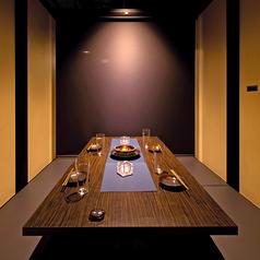 4名様向け完全個室!ゆったりお食事に◎