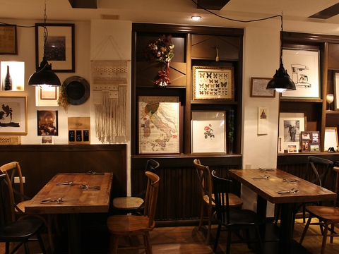 イタリア現地での修行経験を料理と空間で表現する、想いの詰まったお店