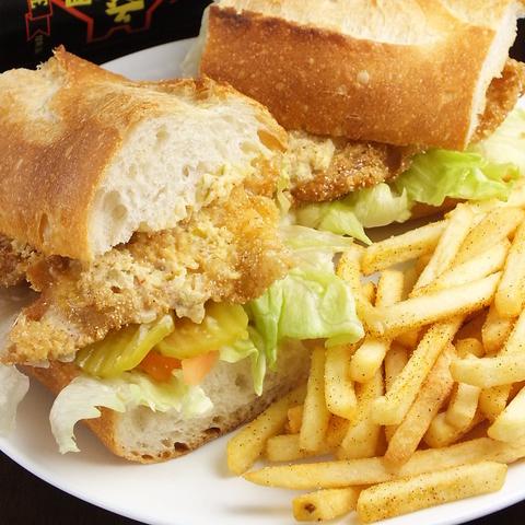 レシピを90歳のお母様から受け継いだ、本場ニューオーリンズの母の味サンドウィッチ♪