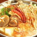 料理メニュー写真チゲ鍋