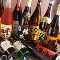 九州各地の焼酎や日本酒の地酒を取り揃えてます!