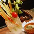 料理メニュー写真ひんやり野菜スティック盛り合わせ