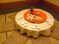 【少人数で利用いただける個室もございます!】2名様から8名様までの丸テーブル個室をご用意。ご家族皆様でも是非ご利用ください♪早めのご予約がおすすめです★