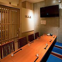個室2名様~最大38名様完備★浦和での各種ご宴会に!