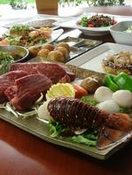 上質な鉄板料理の数々