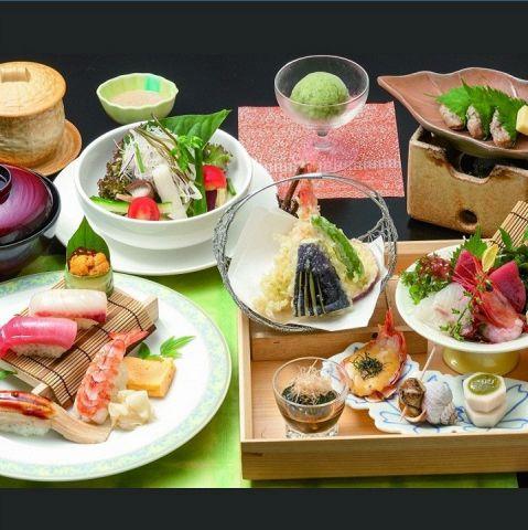 ≪お昼限定★要予約≫美食波奈御膳 〜握り寿司〜 3520円