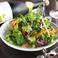 Spicy Shrimp Caesar Salad~Includes Soft-Boiled Egg~  ぷりぷり海老のシーザーサラダ~半熟卵のせ~