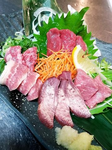 上新庄駅南口降りてすぐ!290円均一料理と馬肉料理~宴会各種予約承ります~