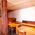 室内:34席(カウンター5席、テーブル29席)