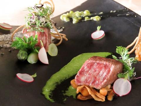 こだわり和空間にシェフ手作りの本格洋食をリーズナブルに♪女子会・宴会・貸切に◎