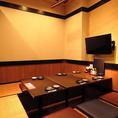 個室もあります♪2名~6名様まで!周りを気にせず、プライベート空間でお食事をお楽しみいただけます。静かな空間でゆっくりおくつろぎください。
