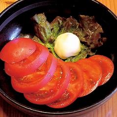 料理メニュー写真冷しトマト(味付)
