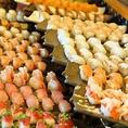 ★お寿司も食べ放題★種類豊富な寿司も大人気!お子様にも好評です。