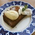 料理メニュー写真自家製パウンドケーキ オムノムチョコレート
