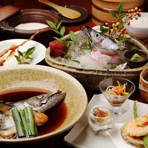 今なら並ばずにご案内可能です!銀平系列ならではの魚料理・日本料理をご堪能ください