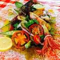 料理メニュー写真大野の前菜盛り合わせ皿