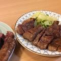 料理メニュー写真仙台直送炭火焼き厚切り牛タン(1人前125g)