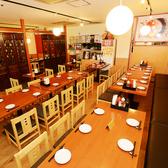 デザイナーズ空間個室は2~16名様までご利用可♪接待、女子会、誕生日会、記念日、会社宴会、忘年会まで様々なシーンでご利用頂いております。★新宿×個室×食べ放題 酔虎