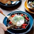 料理メニュー写真丸ごとカマンベールのアヒージョ