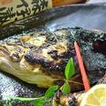 料理メニュー写真特大ぶりかま焼 / 鯛かぶと塩焼