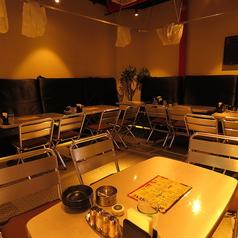 【2階partyスペース】完全個室の少人数貸切スペースです♪15名様~最大36名様まで収容可能です。まわりを気にせず宴会を楽しみたい時に!こちらのお部屋は1つだけですので、お早めにご予約お願いします。