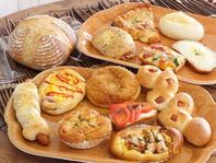 種類豊富な菓子パン