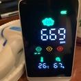 CO2センサーを設置しております。数値を管理して、換気を徹底しております。