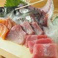 新鮮なおいしい魚介を使った料理もたくさんご用意しています