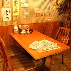 テーブル席は突発的な飲み会に便利