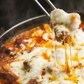 料理メニュー写真鉄板チーズタッカルビ