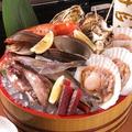 料理メニュー写真貝焼き6点盛り