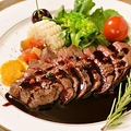 料理メニュー写真広島A5和牛ステーキ