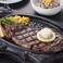 料理メニュー写真特上リブロースステーキ/特上ニューヨークステーキ 各250g