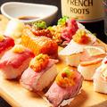 料理メニュー写真【食べ飲み放題】厳選!炙りにく寿司食べ飲み放題⇒3980円!