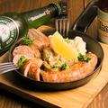 料理メニュー写真極太ソーセージのグリル -本格肉肉肉ソーセージ-