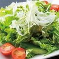 料理メニュー写真とりとんの旨塩サラダ