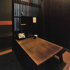 会社の接待などにも最適!個室も完備!4名様の掘りごたつ式個室です!