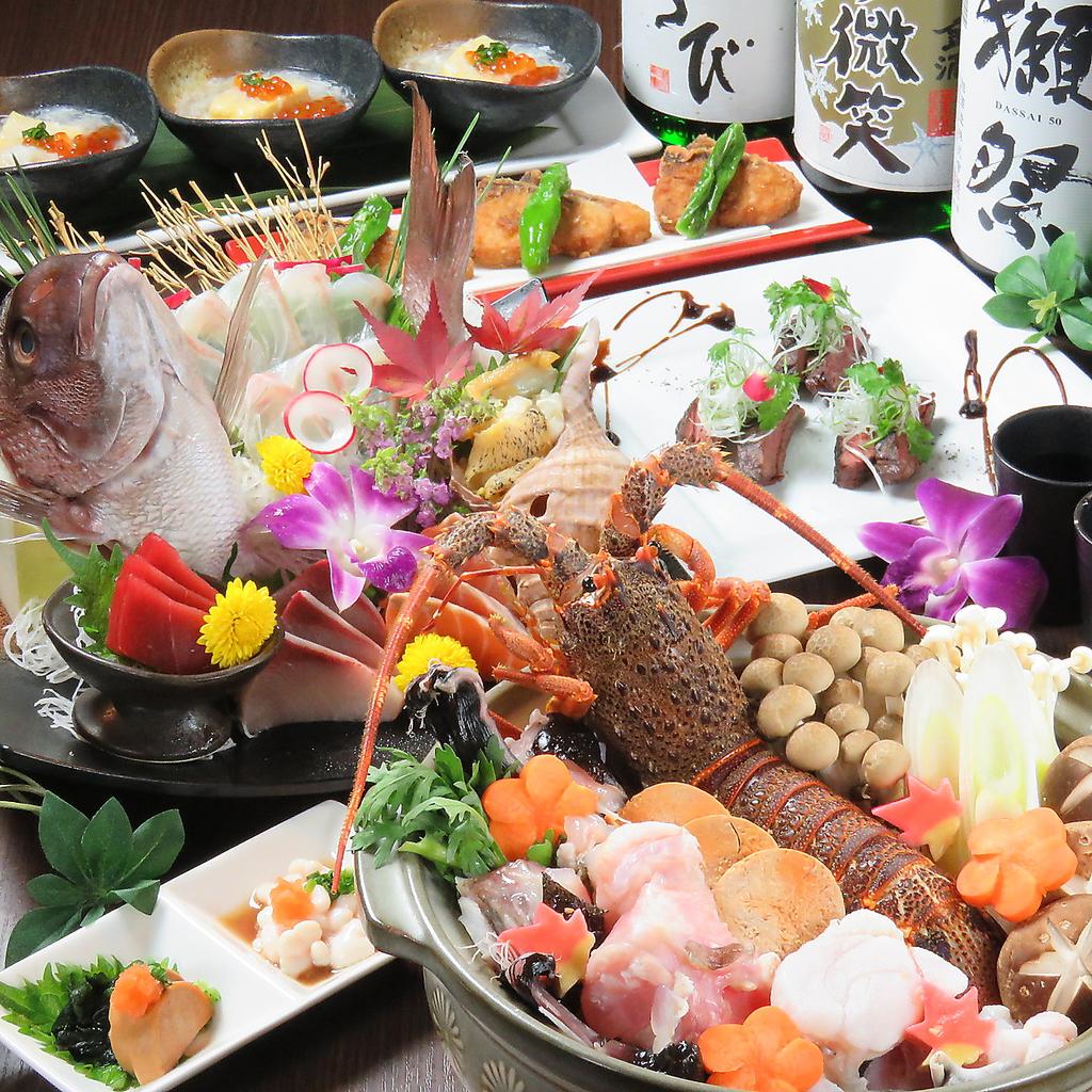 新鮮な魚介を楽しめる料理が多数♪