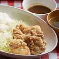 料理メニュー写真特製鶏から揚げ定食