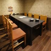 テーブル個室もあります。