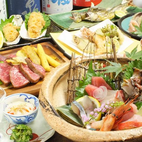 高槻で牡蠣料理食べるなら「蠣鯖人酒 宇久」!コースプラン・飲み放題プランあり◇