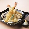 料理メニュー写真高田屋名物!大判かき揚げ/蕎麦屋の天ぷら盛り合わせ~大海老~
