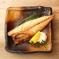 料理メニュー写真塩サバの干物