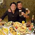 料理メニュー写真60種類のアルコール150分飲み放題付ボリューム満点コース 3,500円