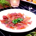 料理メニュー写真イタリア・パルマ産プロシュート