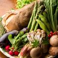 【農家直送の新鮮野菜】肉バル厳選の新鮮野菜を使用したお料理をお楽しみください。和食&洋食の創作料理をごゆっくりお楽しみください。女子会・誕生日会・合コン・会社宴会・打ち上げなどにご利用ください!!